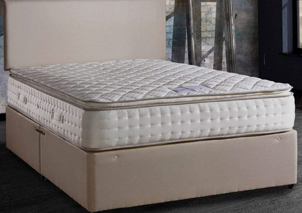 Deluxe Beds Mattress Opulence Pillow Top Mattress With 1500 Pocket Springs And Memory Foam Bed Kings