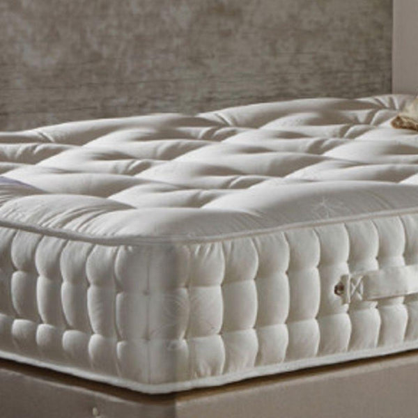 Deluxe Beds Mattress Single Natural Luxury - 1500 Pocket Spring Mattress - Medium Firmness Bed Kings