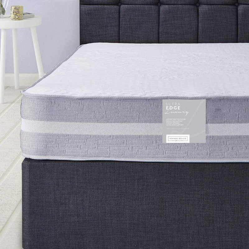 Ultra Edge Luxury Foam Mattress with 2000 Pocket Springs