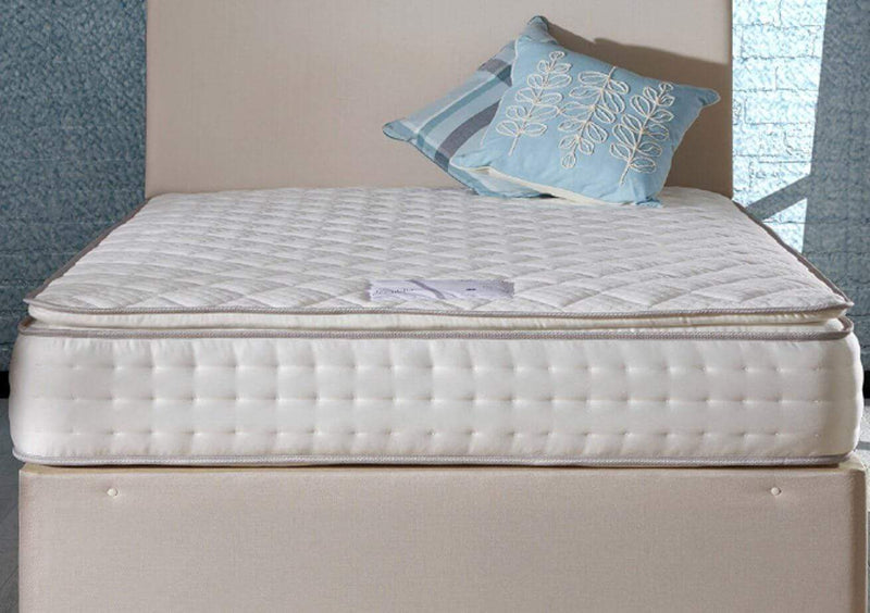 Deluxe Beds Mattress Utopia Pillow Top Mattress With 1500 Pocket Springs And Reflex Foam Bed Kings