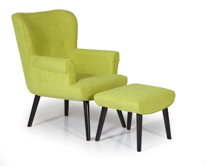 Oban Occasional Chair Green