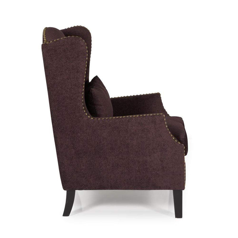 Stirling Occasional Chair Aubergine