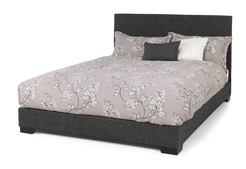 Serene Fabric Bed Emily  Fabric Upholstered Bed - Graphite