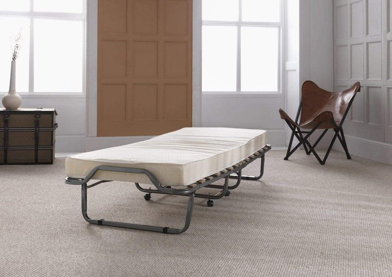 Serene Folding Bed Luxor  Metal Folding Bed - Silver
