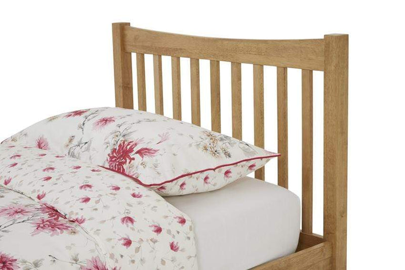 Serene Guest Bed Single 90cm 3ft Alice Wood Guest Bed - Oak