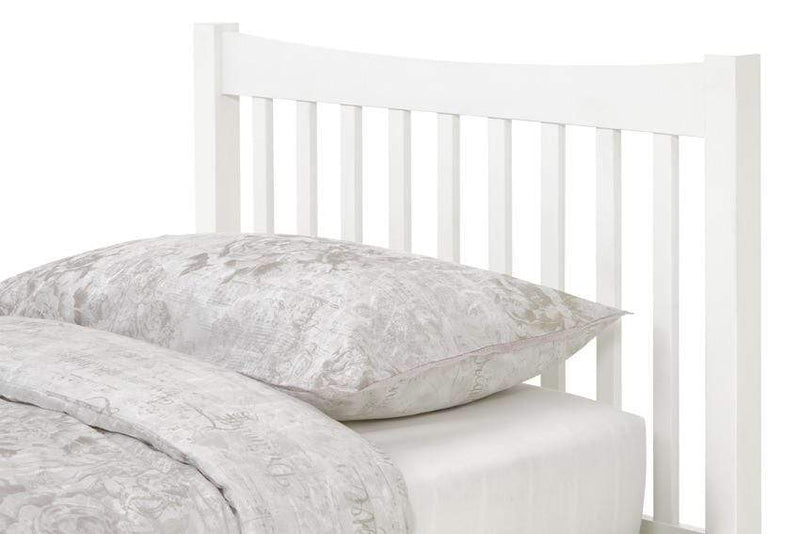 Serene Guest Bed Single 90cm 3ft Alice Wood Guest Bed - White