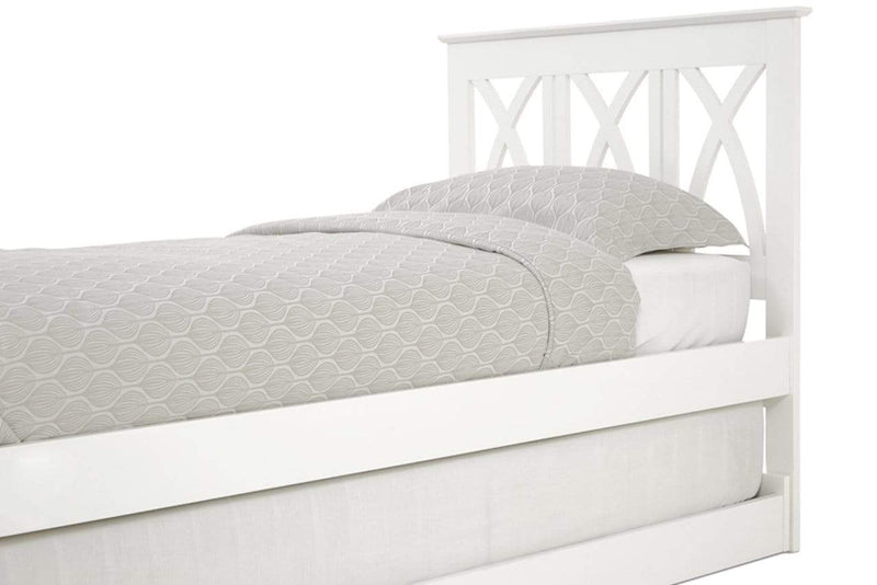 Serene Guest Bed Single 90cm 3ft Autumn Wood Guest Bed - White