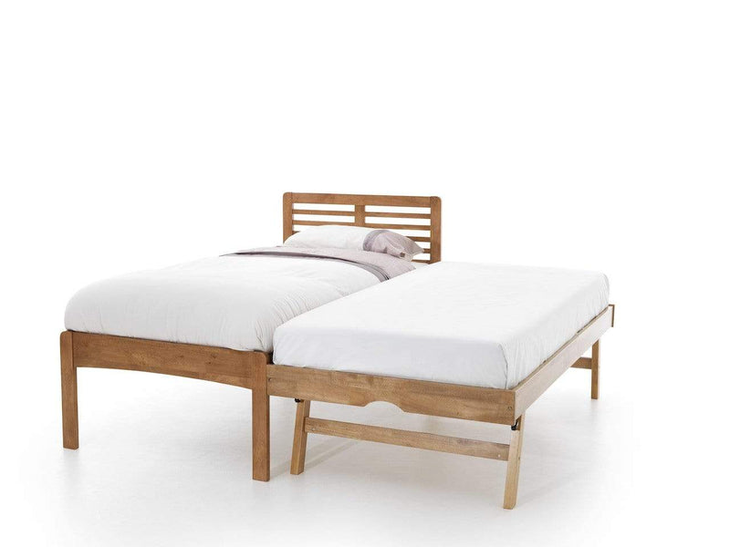 Serene Guest Bed Single 90cm 3ft Esther Wood Guest Bed - Oak