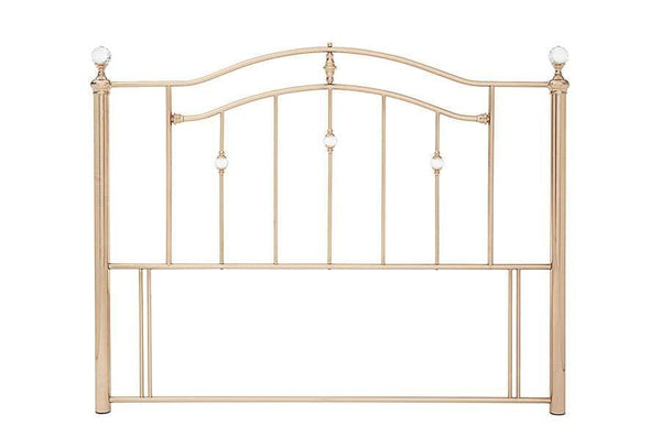 Serene Headboard Ashley  Metal Headboard - Rose Gold