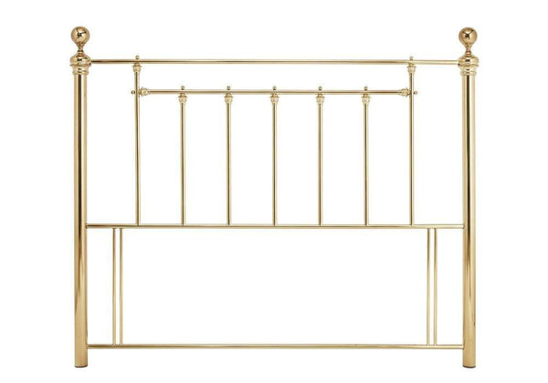 Serene Headboard Benjamin  Metal Headboard - Brass