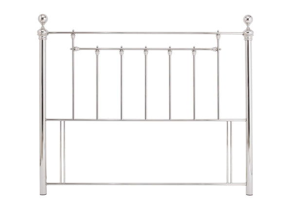 Serene Headboard Benjamin  Metal Headboard - Nickel