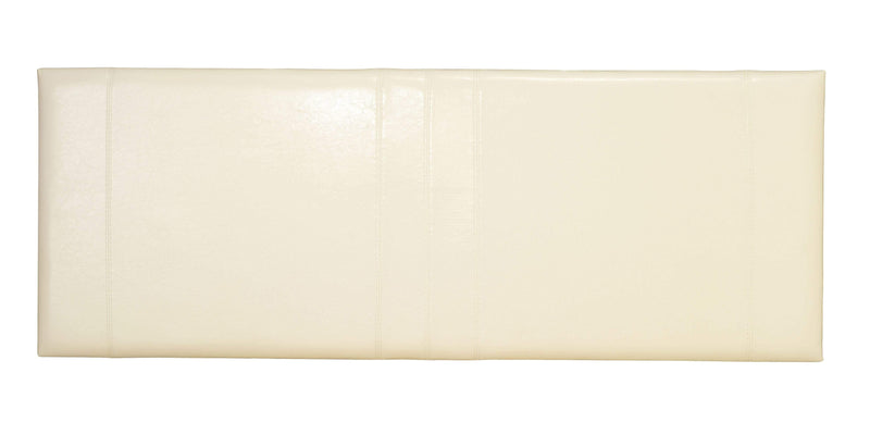 Serene Headboard Carmela  Leather Headboard - Cream