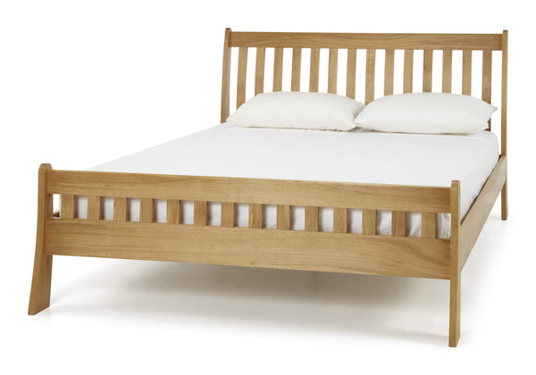 Serene Wood Bed Colchester  Wood Bed - Oak