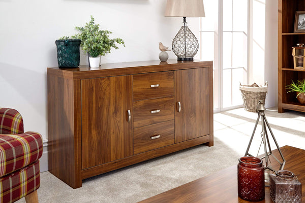 GFW Sideboard Hampton Acacia Sideboard Bed Kings