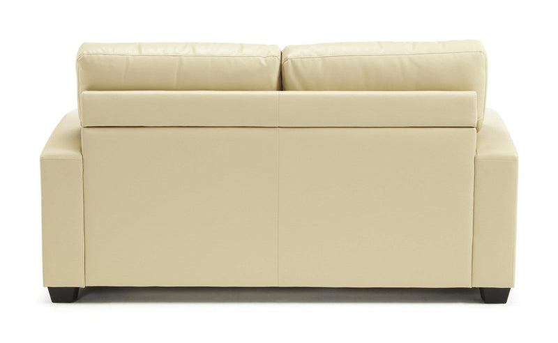 Serene Sofa Bed Small Double 120cm 4ft Turin  Leather Sofa Bed - Cream Bed Kings