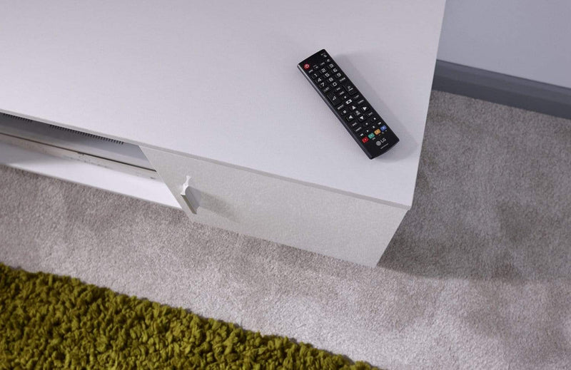 Lima High Gloss TV Unit  White