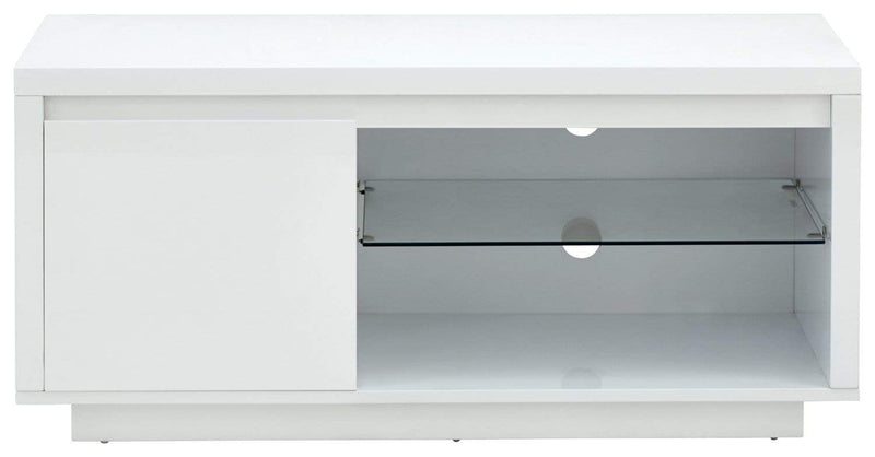 Polar High Gloss Led TV Unit White