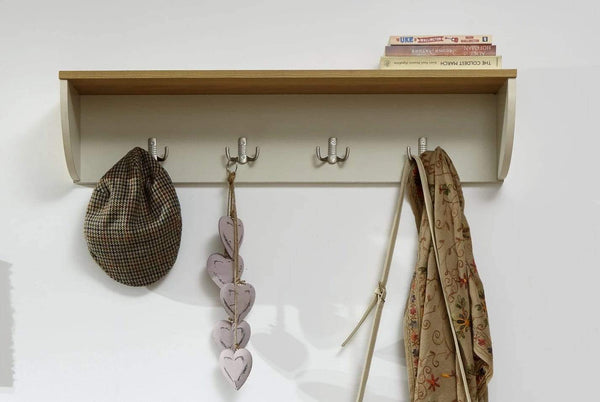GFW Wall Rack Lancaster Wall Rack Cream Bed Kings