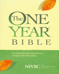 One Year Bible (Hardcover) - NIV