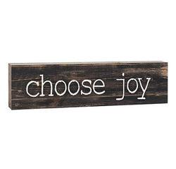 Choose Joy Stick Plaque - Small