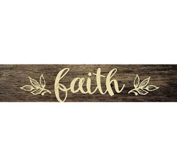 Faith Stick Plaque - Small