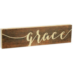 Grace Stick Plaque - Small