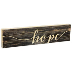 Hope Stick Plaque - Small