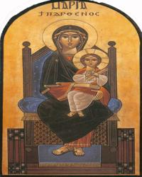 The Holy Theotokos