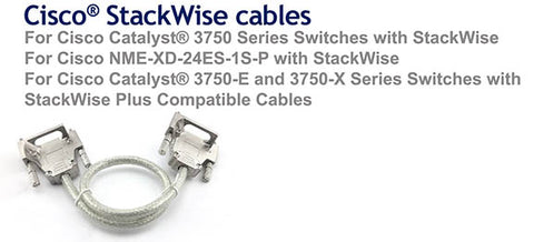 3M Cisco Compatible CAB-STACK-3M StackWise Cable
