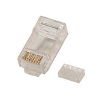 RJ45 Cat6 Plug Solid 3 Prong w/Inserter 100pk - EAGLEG.COM