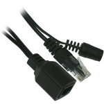 Balun AC / DC Y-Cable Adapter, Input Side 2.1mm DCJjack - EWAAY.COM