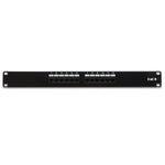 Cat6 110 Type Patch Panel 12Port RackMount
