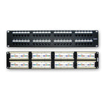 Cat6 110 Type Patch Panel 48Port RackMount