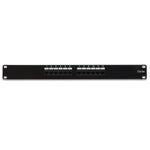 Cat5E 110 Type Patch Panel 12Port RackMount