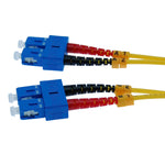 SC/UPC-SC/UPC Singlemode Duplex 9/125 Fiber Optic Patch Cable - EWAAY.COM
