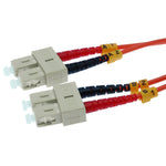 OM1 SC-SC Duplex Multimode 62.5/125 Fiber Optic Cable - EWAAY.COM