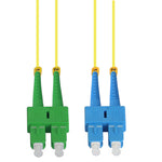 SC/UPC-SC/APC Singlemode Duplex 9/125 Fiber Optic Patch Cable - EWAAY.COM