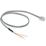 1.5Ft RJ11 6P2C Plug to Open Wire Cable, Transmit RS-485 Over Balun Cat5 - EWAAY.COM