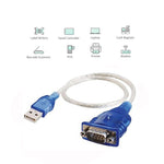 USB to RS232 Serial Adapter DB9-Male/Hex Nut, Prolific Chipset PL2303TA - EAGLEG.COM