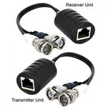 BNC Video Audio Extender Over Cat5e Cat6 Cat7 Cable