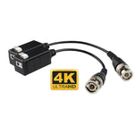 Single Channel HD Passive Video Balun Transceiver 4K