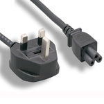 6Ft England / UK Notebook Power Cord Cable, Polarized, with Fuse - EWAAY.COM