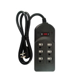 4Ft 6-Outlet Surge Protector With ENI/RFI Filter 750J 120V 15A