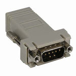 DB9 Male to RJ45 Preassembled Modular Adapter w/Hex Nut - EWAAY.COM