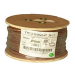 500Ft 20/2 Unshielded CMR Thermostat Cable Solid Copper PVC - EWAAY.COM