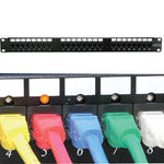 Cat5E 110 Patch Panel 24Port Rackmount w/LED Indicator - EAGLEG.COM