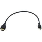 1Ft High Speed HDMI A-M to Mini (Type-C) Thin Cable 36AWG - EAGLEG.COM