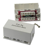 Cat5E Junction Box, 110 Punch Down Type - EAGLEG.COM