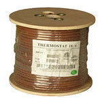 500Ft 18/6 Unshielded CMR Thermostat Cable Solid Copper PVC