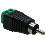 RCA Plug to Terminal Block - EAGLEG.COM